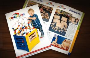 Short rund education catalogue design and print