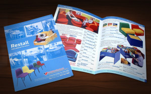 School Furniture Catalogue design, public sector design, Design