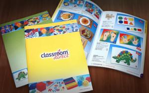 Classroom Direct Trade Catalogues Design