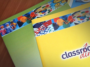 Classroom Direct catalogue design