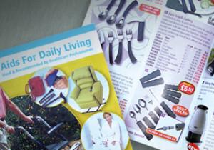 Nottingham Rehab Supplies catalogue design