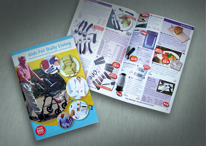 catalogue design and print leicester, Healthcare catalogue design, catalogue designer derbyshire, catalogue design manchester, catalogue printers leicester