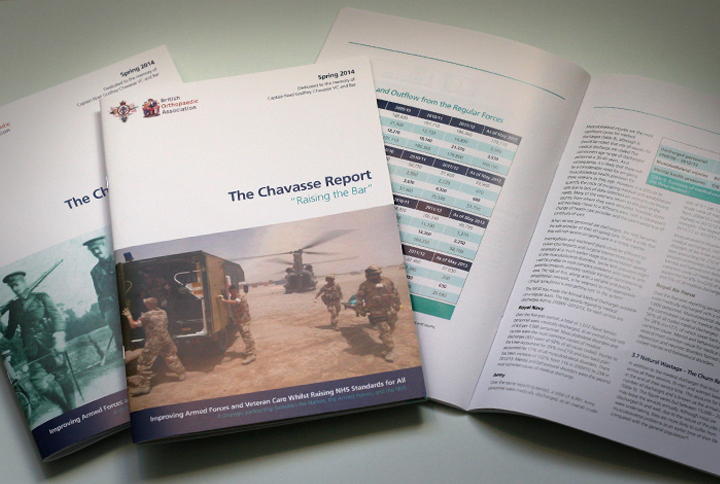 NHS Report Design, large report design, public sector graphic design