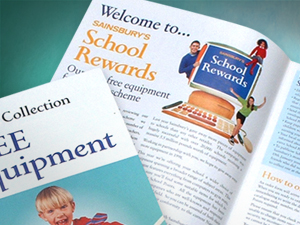 Sainsburys School Rewards Catalogues