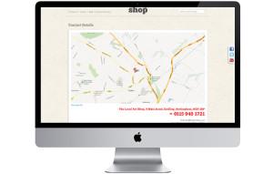 Carlton website design map nottingham