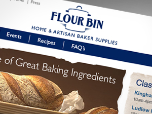 Food ecommerce website design