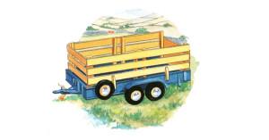 Watercolour illustration for books