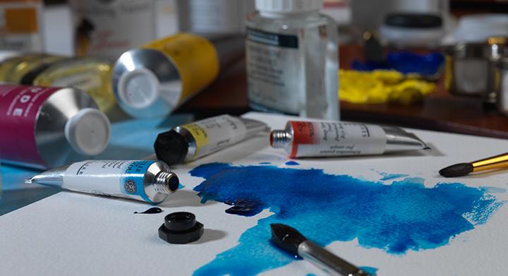 Catalogue photography artists paints