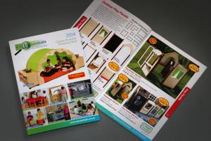 Edusentials retail catalogue design and production