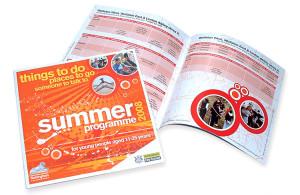 leaflet design nottingham, leaflet design company nottingham, graphic design peak district