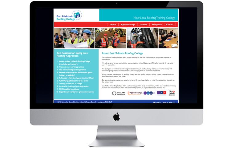 College website designers, school website design