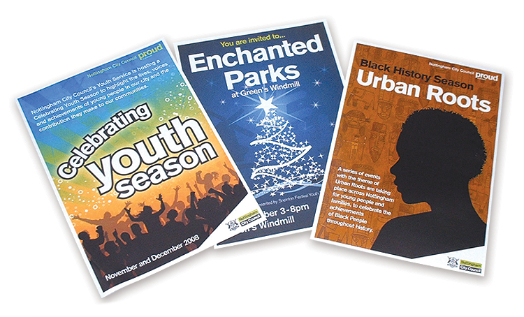 City council leaflet design, Leaflet Design City Council, Nottingham leaflet designers, leaflet design nottingham, poster design nottingham