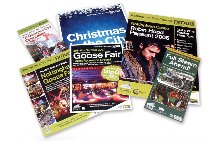 leaflet design nottingham, leaflet designers nottingham