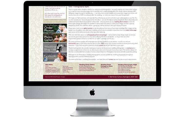 Website design Nottingham, photographers website design, web design hopevalley, website designers hathersage, web site design baslow