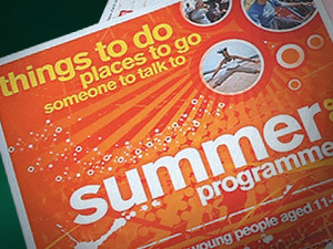 Holiday Activity Brochure Design