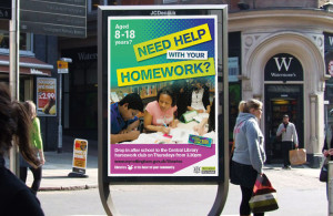 Poster designers, graphic designers Bakewell, Nottingham poster design