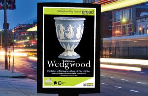 wedgewood poster design nottingham, peak district graphic designers