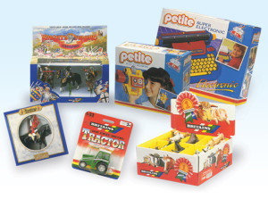 toy packaging design nottingham, britains petite pack design, retail packaging company