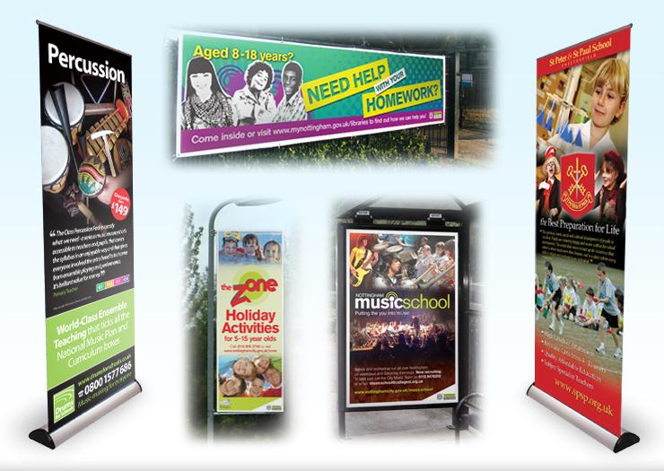 Exhibition design for schools, schools display designers, college display printers, website design hathersage, Peak District graphic designers