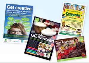Advertising design, advert design for schools, college advert design company, graphic design company, peak district website designers