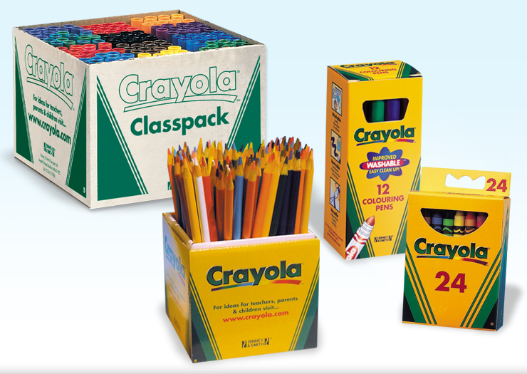 School prospectus design, college prospectus design, Crayola packaging designer, design for education experts, s