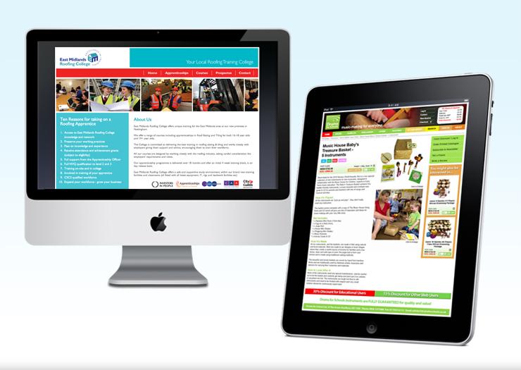 School website design, design for education, education website designers, peak district website design