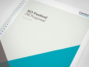 PR Company proposal design, report design sheffield, report designers nottingham, wiro bound brochure designers