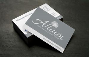 Retail business card design chesterfield, shop card designers, business card printers peak district, business card design wadebridge