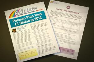 brochure design peak district, newsletter design sheffield, report designers derby