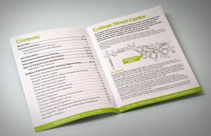 brochure design Nottingham city council, brochure designers matlock, brochure printers buxton