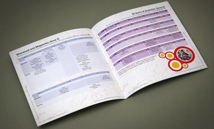 public sector design company, activity brochure design comapny, nottingham brochure designers, sheffield brochure design company, childrens activity brochure designers, brochure designers