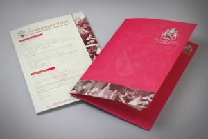school folder design, school prospectus design derbyshire, school brochure design company