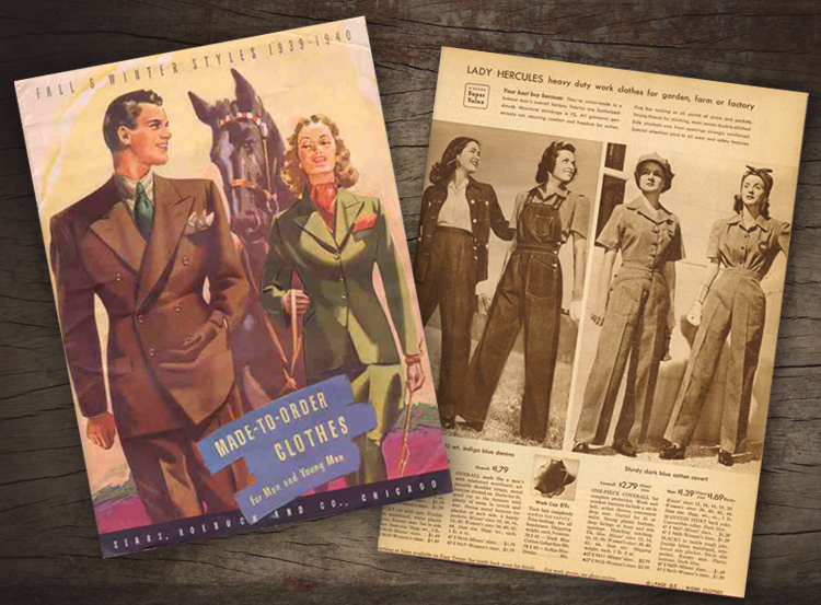 catalogue design around the war
