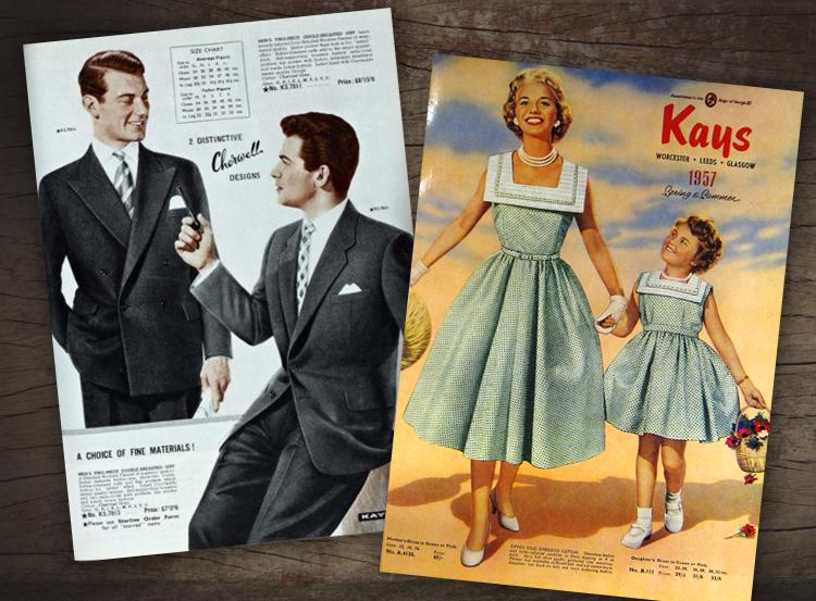 colour catalogue print 1950, design 1950, retro catalogue design
