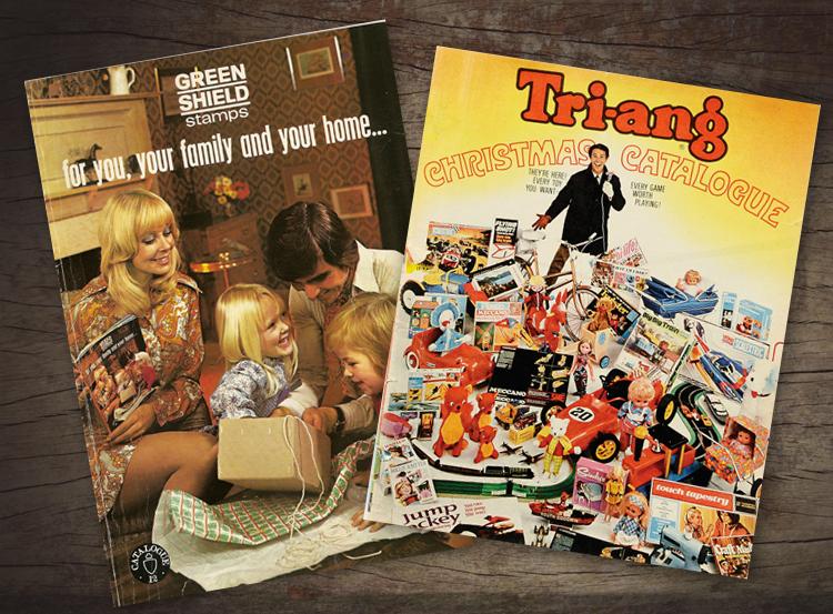 retro catalogues, toy catalogue design