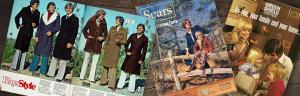Retro catalogue design examples, 1970s catalogues, history of catalogues