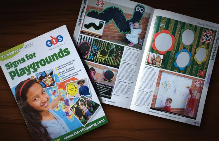 TTS catalogue designer, playground catalogue design, catalogue printers, catalogue company