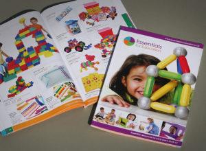 nursery catalogue design, catalogue designers for nurseries, school catalogue design, early years catalogue print
