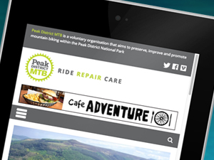 Website Design – Peak District MTB