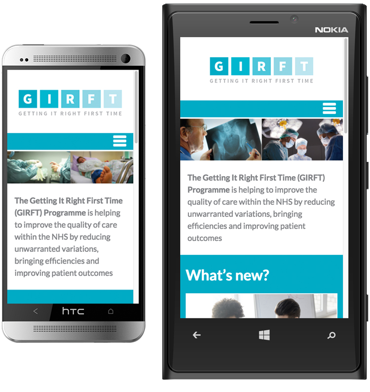 NHS website design, heath care web design, peak district website designers, web design peak district