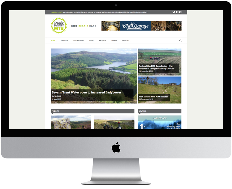 peak district web design