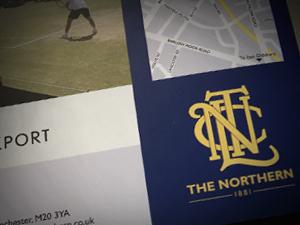Tennis Club Brochure Design