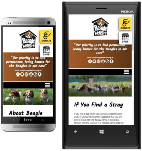 responsive website design sheffield, chesterfield web design, charity website designers, website designers buxton