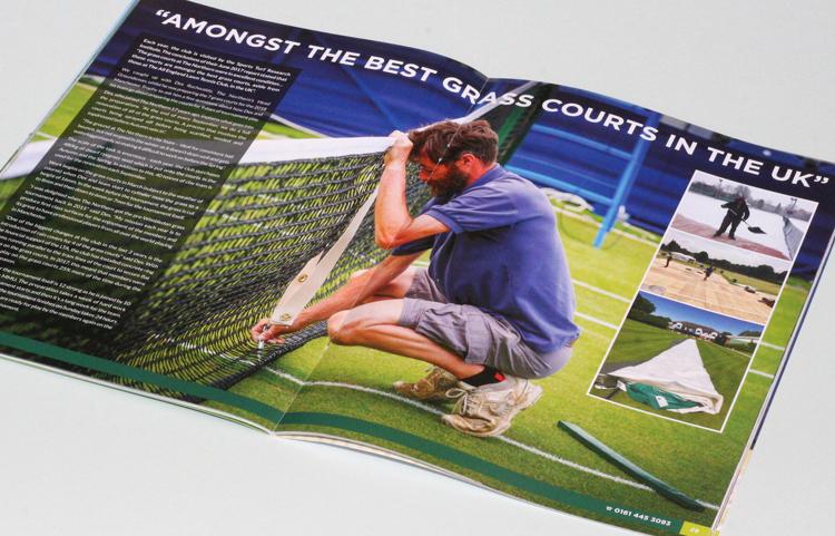 grass court tennis design
