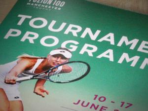Tennis Tournament Programme