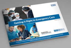 NHS brochure design derbyshire