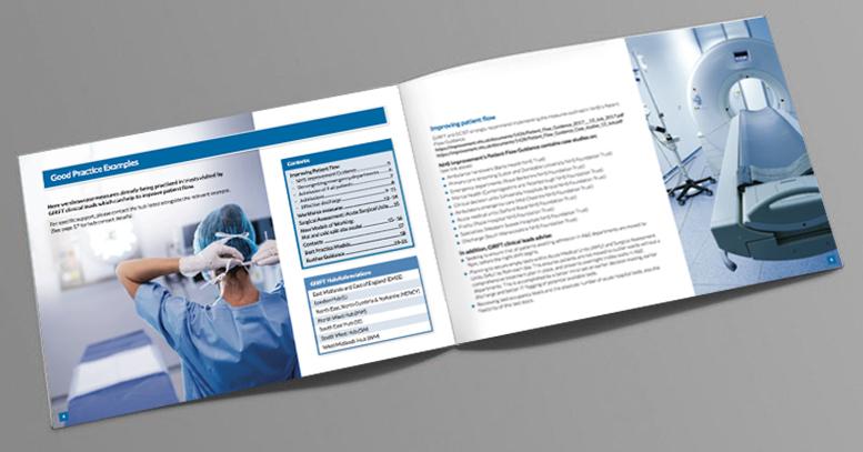 NHS brochure designer, Healthcare brochure design