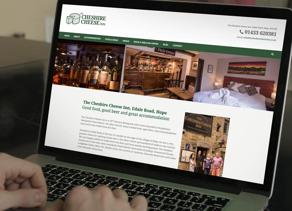 pub web design, peak district web design