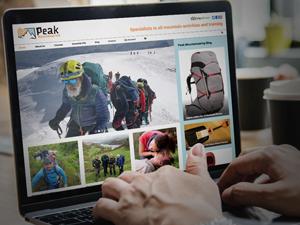 Ecommerce website peak district