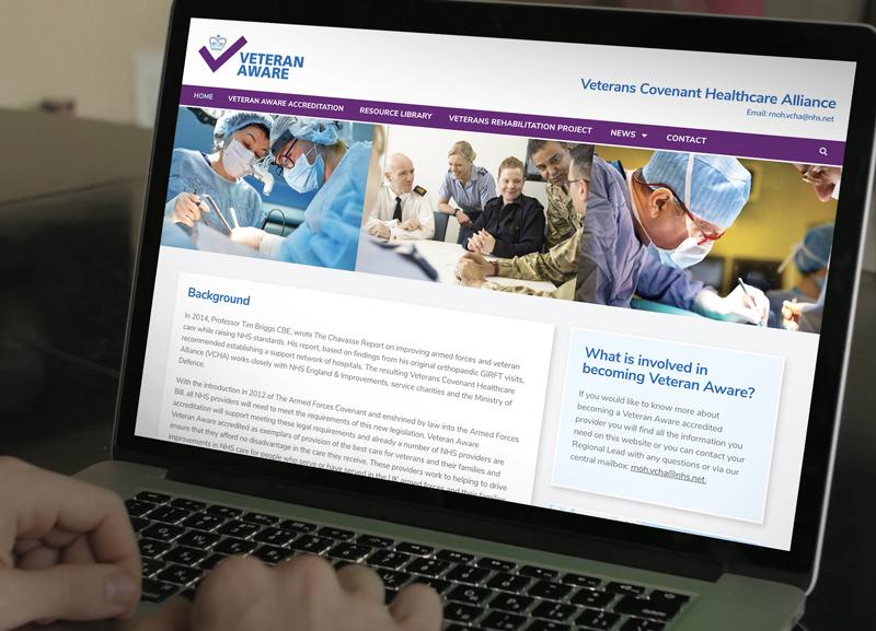 veteran website design